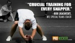 """Crucial training for every snapper."" - Bob Ligashesky, NFL Special Teams Coach"